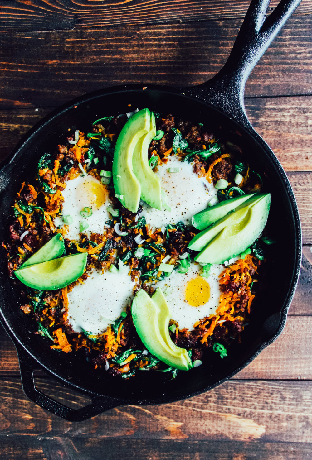 Paleo Breakfast Skillet, a great #paleo, #healthy, #glutenfree, #grainfree, #dairyfree, #whole30 #recipe