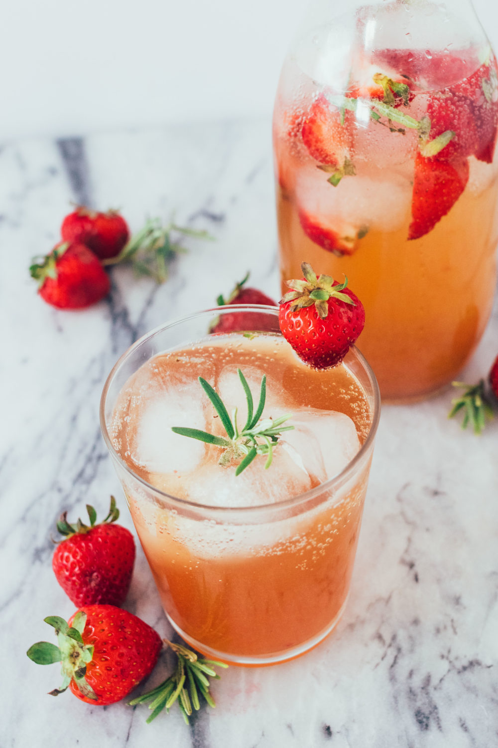Strawberry Shrub Drinking Vinegar. An easy, probiotic DIY recipe that's paleo, healthy, gluten-free, dairy-free, whole30